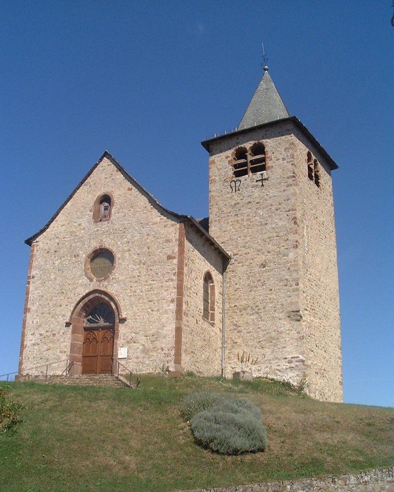 Clocher de l'église d'Auzits